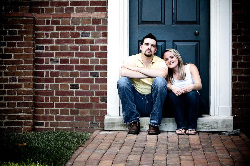 Engagement Session with Marty & Chelsea in Bowie, MD