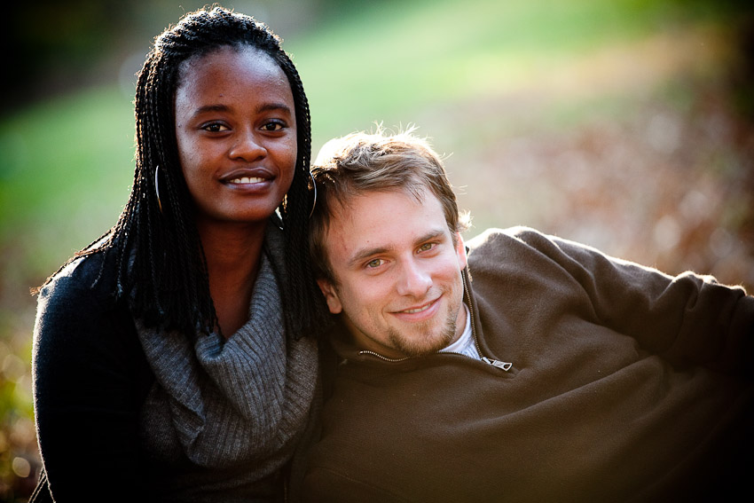 Portrait Session with Zach & Thuli in Bowie, MD