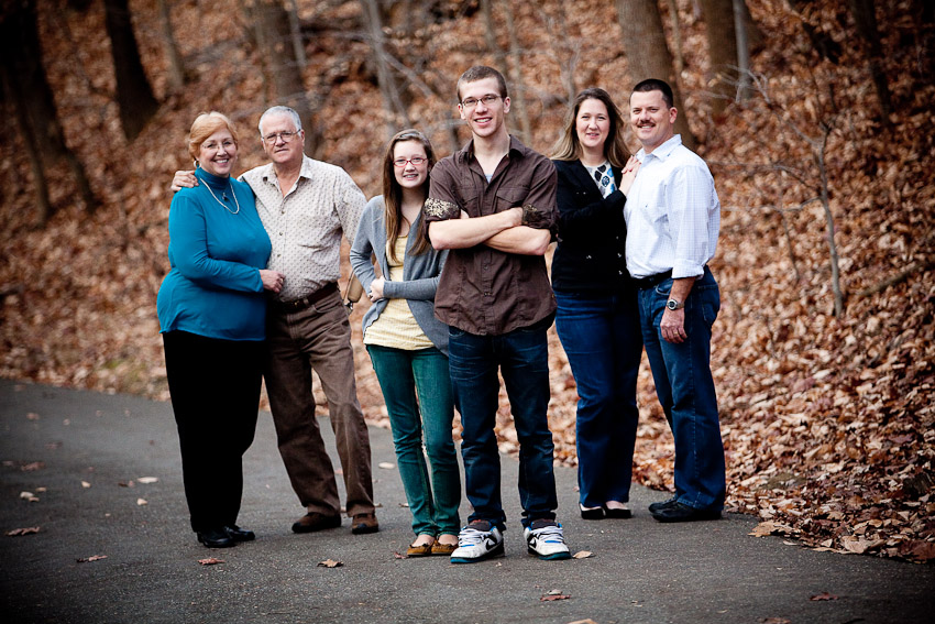 Family Portraits at Foxhill Park in Bowie, MD