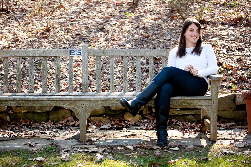 Portrait Session with Emily at the National Arboretum in DC