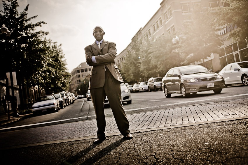 Business Professional Portrait Session in Arlington, VA
