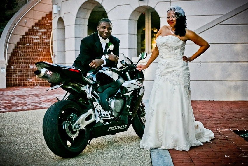 Wedding Photography for Talitha & David at the University of Maryland in College Park