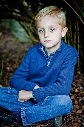 portrait of boy at Glenview Mansion in Rockville, MD