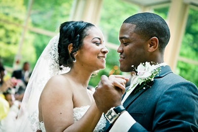 first dance  at the Newton White Mansion in Mitchellville MD