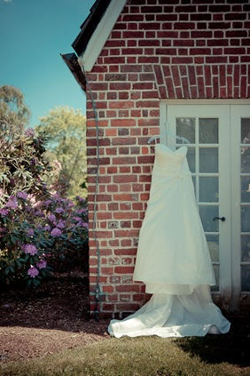 wedding dress at Mt. Airy Mansion in Upper Marlboro Maryland