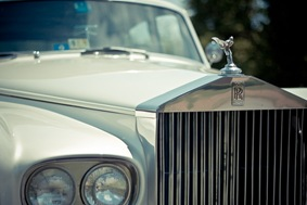 Rolls Royce  at Mt. Airy Mansion in Upper Marlboro Maryland