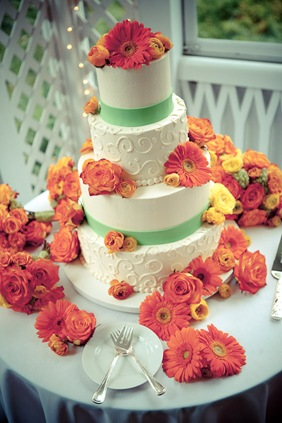 wedding cake at Mt. Airy Mansion in Upper Marlboro, MD