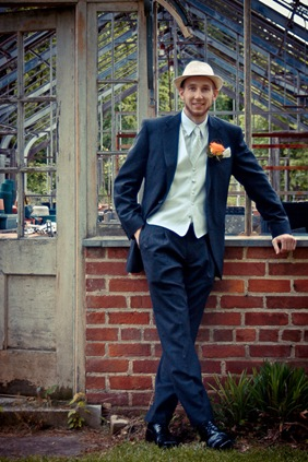 groom  at Mt. Airy Mansion in Upper Marlboro Maryland