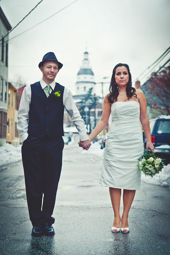 wedding photos in downtown annapolis