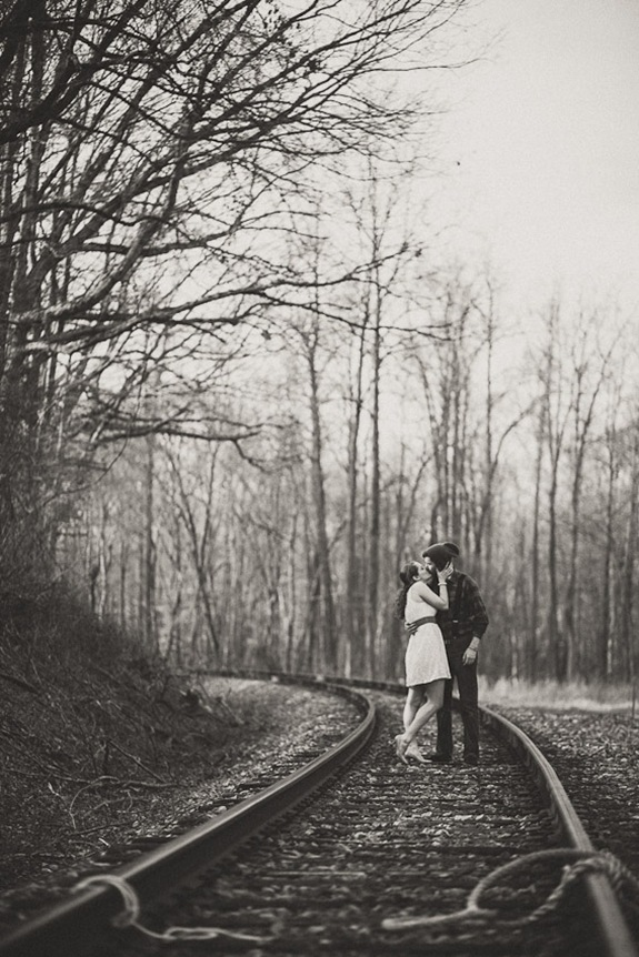 The Hero Saves the Maiden from the Villain - Engagement Session