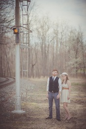 Engaged Couple in Bowie Maryland