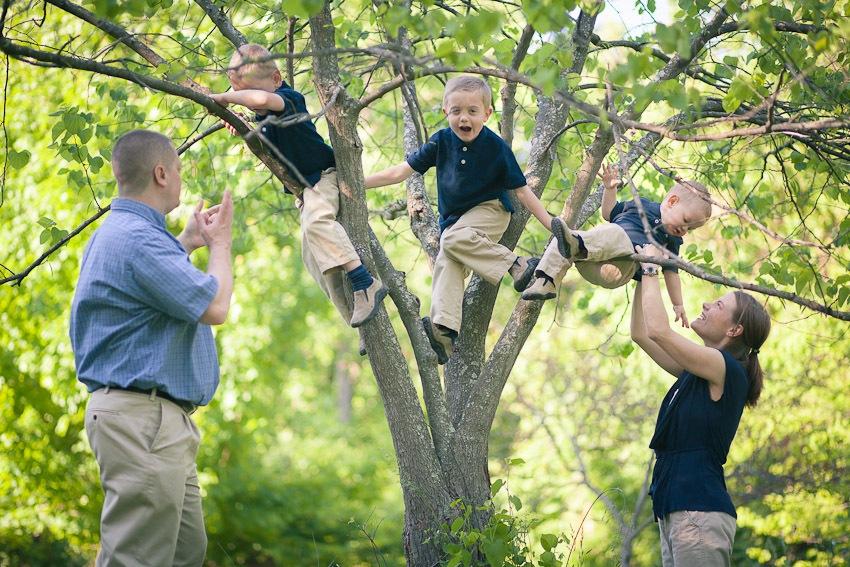Family Portraits at Wheaton Regional Park in Wheaton Maryland