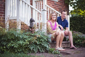 engagement photos at the marietta house museum in glen dale md