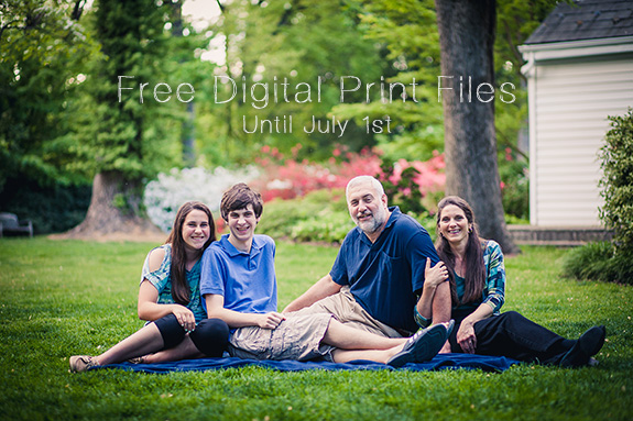 Free Digital Print Files Before July 1st