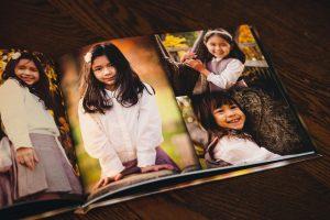 Portrait Book Pages