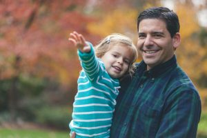 father-and-daughter-in-fall