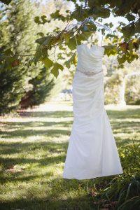 wedding-dress-in-lone-field