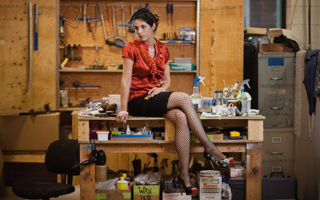Becky's Industrial Portraits