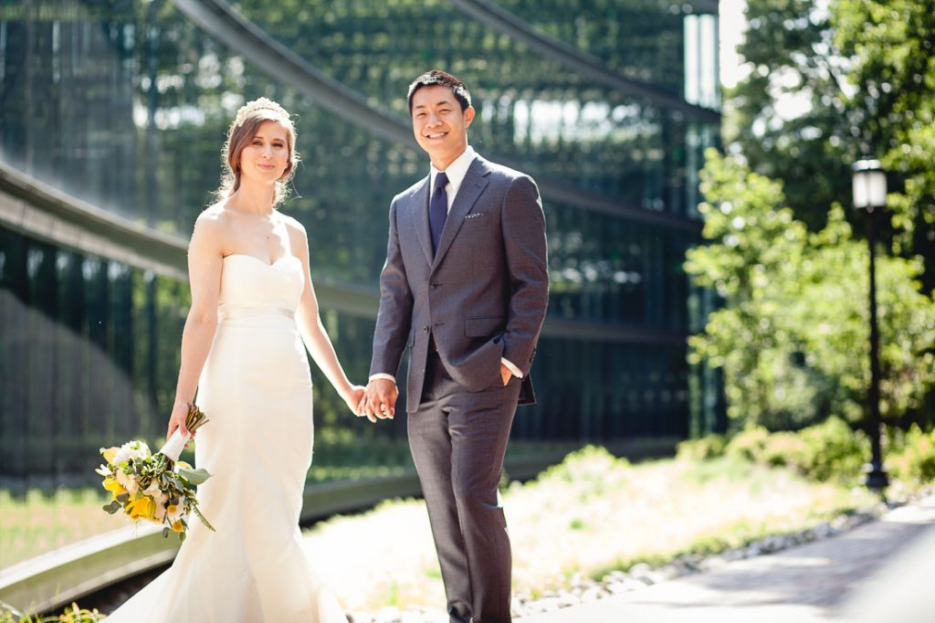Married couple at Johns Hopkins University