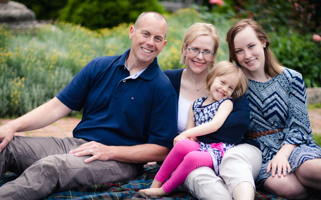 Family Portraits at the National Cathedrial