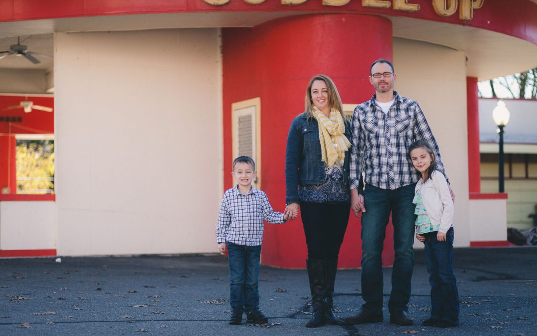 Michael & Erica's Family Portraits in Glen Echo