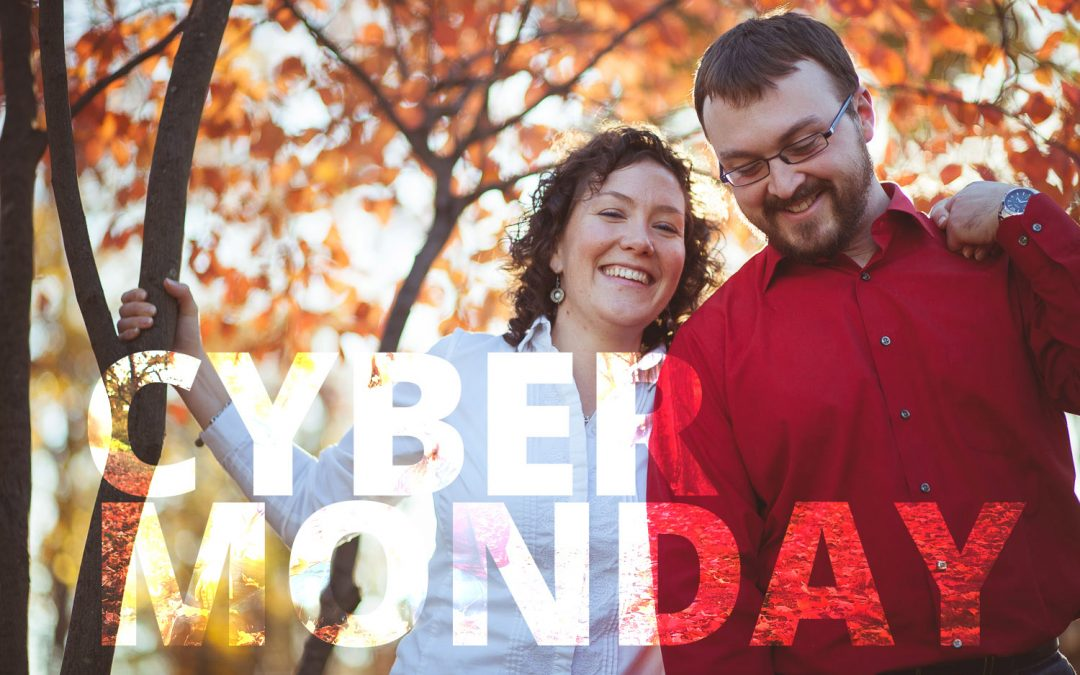 Cyber-Monday: Save up to 50% on Portrait Sessions
