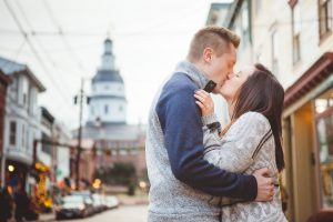 Engagement Session Turned Proposal Downtown Annapolis Petruzzo Photography 23