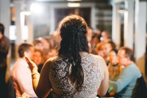 A Wedding Under the Warm Light of The Barnes at Hamilton Station 106