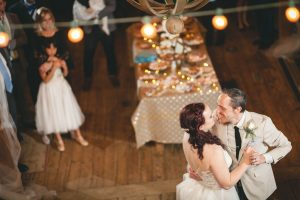 A Wedding Under the Warm Light of The Barnes at Hamilton Station 126