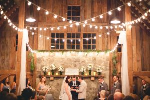 A Wedding Under the Warm Light of The Barnes at Hamilton Station 73