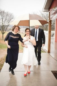 Bright Wedding On a Dreary Day at Linganor Wines 07