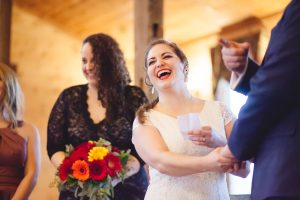 Bright Wedding On a Dreary Day at Linganor Wines 42