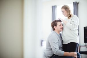 An Engagement Session at Home 12