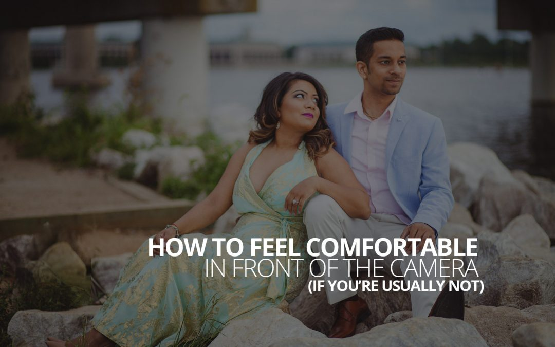 How to feel comfortable in front of the camera (if you're usually not)