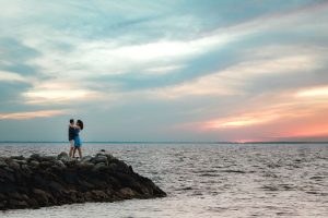 An Adventurous Engagement Session in St Michaels Maryland 31