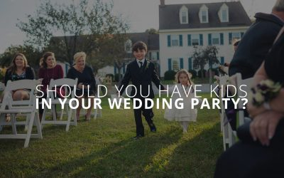 Should you have kids in your wedding party?