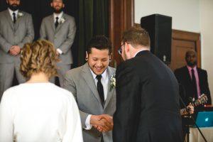 A Wedding at Historic Baldwin Hall from Greg & Erik 36