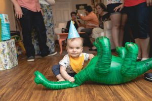 Felipe Covers This Little Guys First Birthday 16