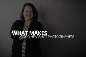 a good headshot photographer