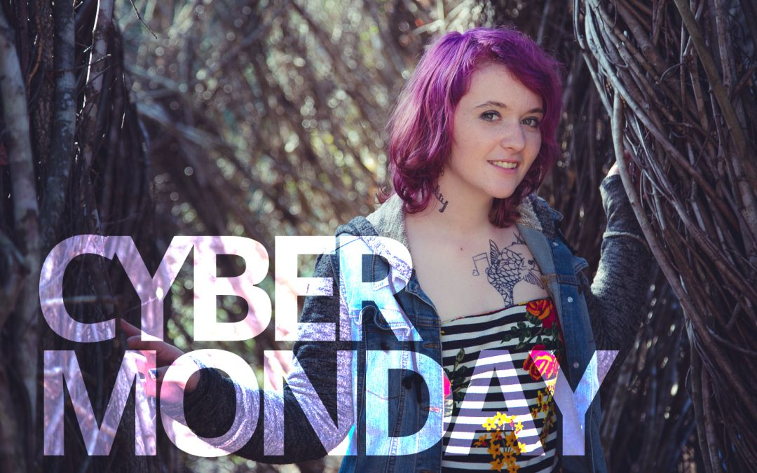 Cyber-Monday: Save 20% on Portrait Sessions + Double Prints!