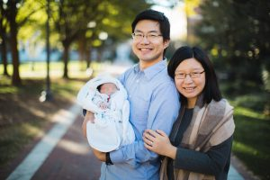 Meeting the Newborn on the Johns Hopkins Campus in Baltimore 15