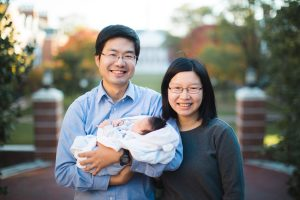 Meeting the Newborn on the Johns Hopkins Campus in Baltimore 21