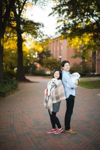 Meeting the Newborn on the Johns Hopkins Campus in Baltimore 28