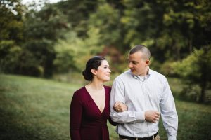 This Couple's Engagement Session in White & Maroon 18