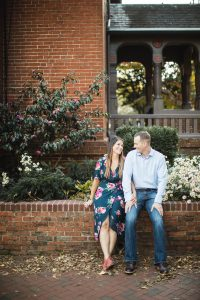 Hand & Hand & Paw Engagement Session on the Streets of Annapolis 12