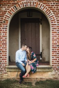 Hand & Hand & Paw Engagement Session on the Streets of Annapolis 19