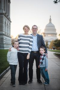 A Family Portrait at The National Portrait Gallery & The Supreme Court Grounds 24
