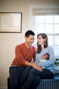 A Portrait Session with a Newborn Family 14
