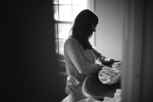 A Portrait Session with a Newborn Family 20