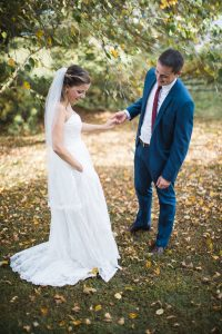 Beautiful Wedding Ceremony Formals at a Private Chesapeake Bay Lighthouse 03